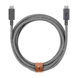Hédonistes_Cable Belt Pro Zebra_Native Union-1